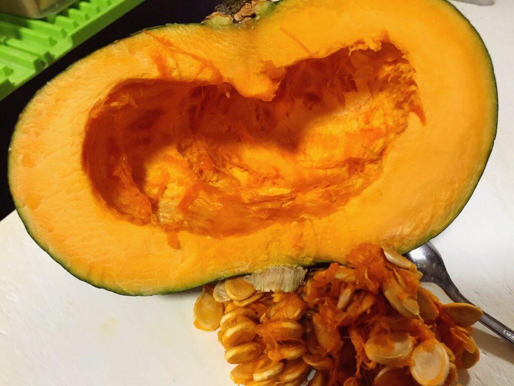 かぼちゃは冷凍できるのか?【保存方法】